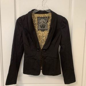 Guess Black Blazer Jacket XS